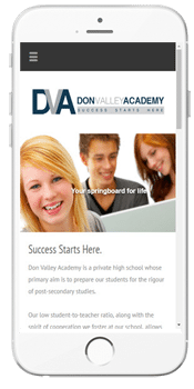 Don Valley Academy - Admissions