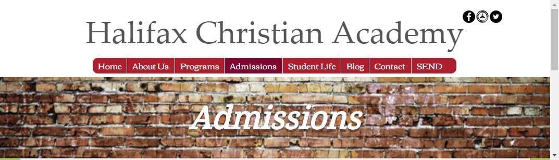 HCA - Admissions Info