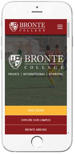 Bronte College - Admissions Information