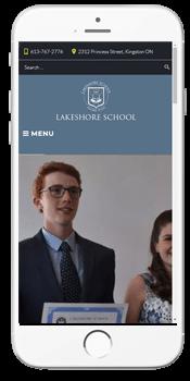 Lakeshore School - Admissions
