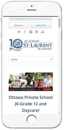 Académie St-Laurent Academy - Admissions Info