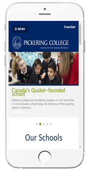 Pickering College - Admissions Information