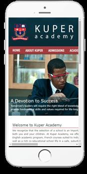 Kuper Academy - Admissions