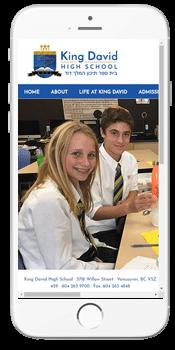 King David High School - Admissions