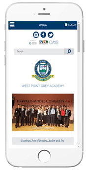 WPGA - Admissions Info