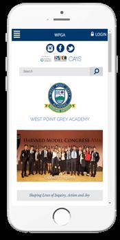 WPGA - Admissions Info