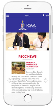 Royal St. George's College - Admissions