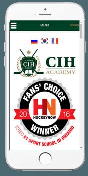 CIH Academy - Admissions