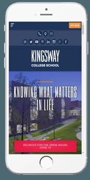 Kingsway College School - Admissions