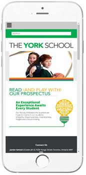 The York School - Admissions Info