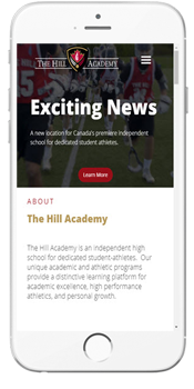 The Hill Academy - Admissions Information