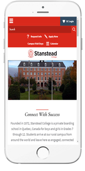 Stanstead College - Admissions Information