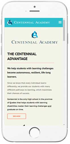 Centennial Academy - Admissions