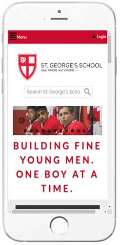 St. George's School - Admissions Info