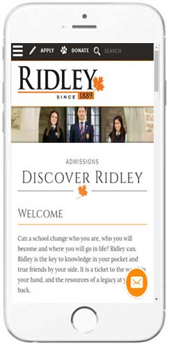 Ridley College - Admissions Information