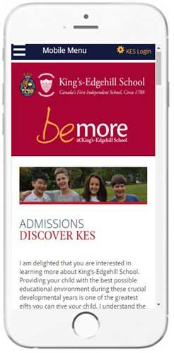 King's-Edgehill School - Admissions Information