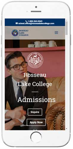 Rosseau Lake College - Admissions Information