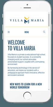 Villa Maria - Admissions