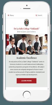De La Salle College - Admissions