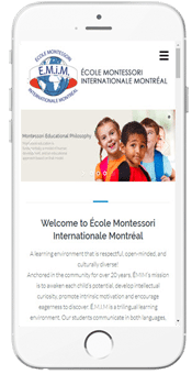 École Montessori International de Montréal - Admissions