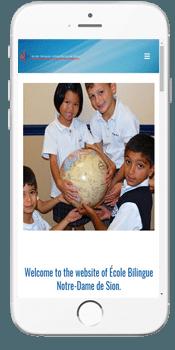 École Bilingue Notre-Dame de Sion - Admissions