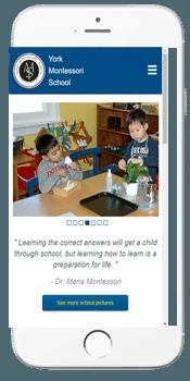 York Montessori - Admissions Information