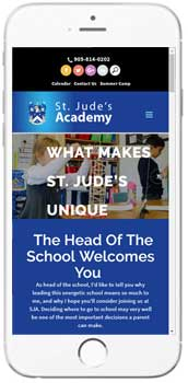 St. Jude's Academy - Admissions Info