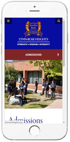 Lynn-Rose Heights - Admissions Information