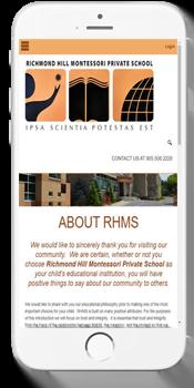 RHMS - داخلہ کی معلومات