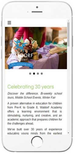 Waldorf Academy - Admissions Info