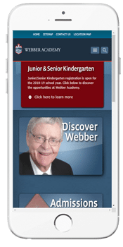 Webber Academy - Admissions