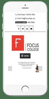 Focus College - Admissions Information