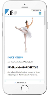 Alberta Ballet - Audition Info