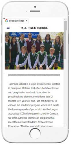 Tall Pines School - Admissions Info