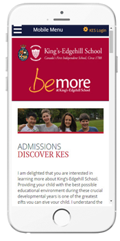 King's-Edgehill School - Admissions Information
