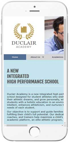 Duclair Academy - Contact