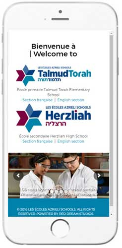 Herzliah High School - Admissions Information