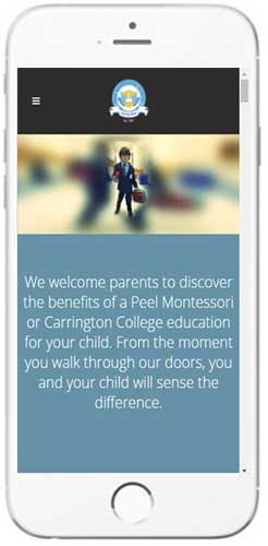 Peel Montessori - Admissions Info