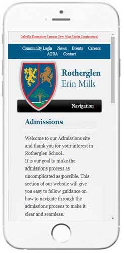 Rotherglen | Erin Mills - Admissions Info
