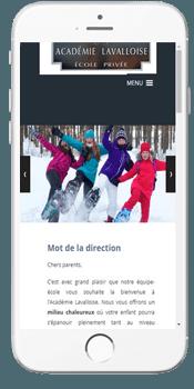 Academie Lavalloise - Admissions