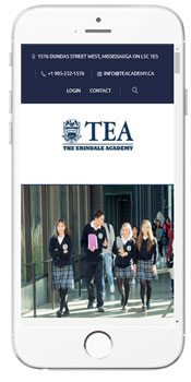 TEA - The Erindale Academy - Admissions Information