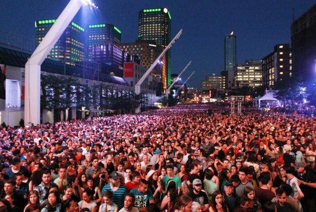 Studying in Canada - Montreal Jazz Festival