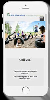 Birch Hills Academy - Admissions