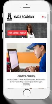 YMCA Academy - Admissions Info