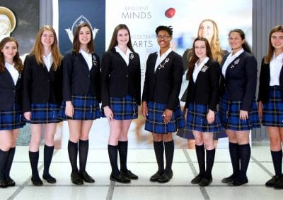 Senior students at Holy Name of Mary College School