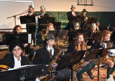 Band practice at Montcrest School
