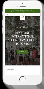 Keystone - Admissions Information