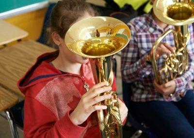 Lycée Français de Toronto band practice