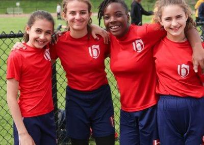 Senior Girls sports team at Bond Academy