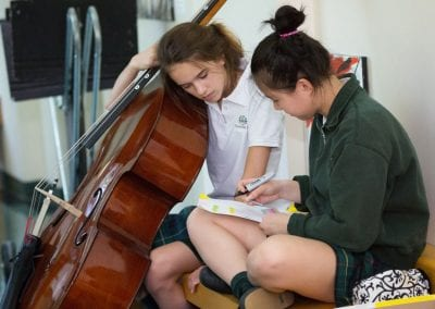 Branksome Hall music students at work